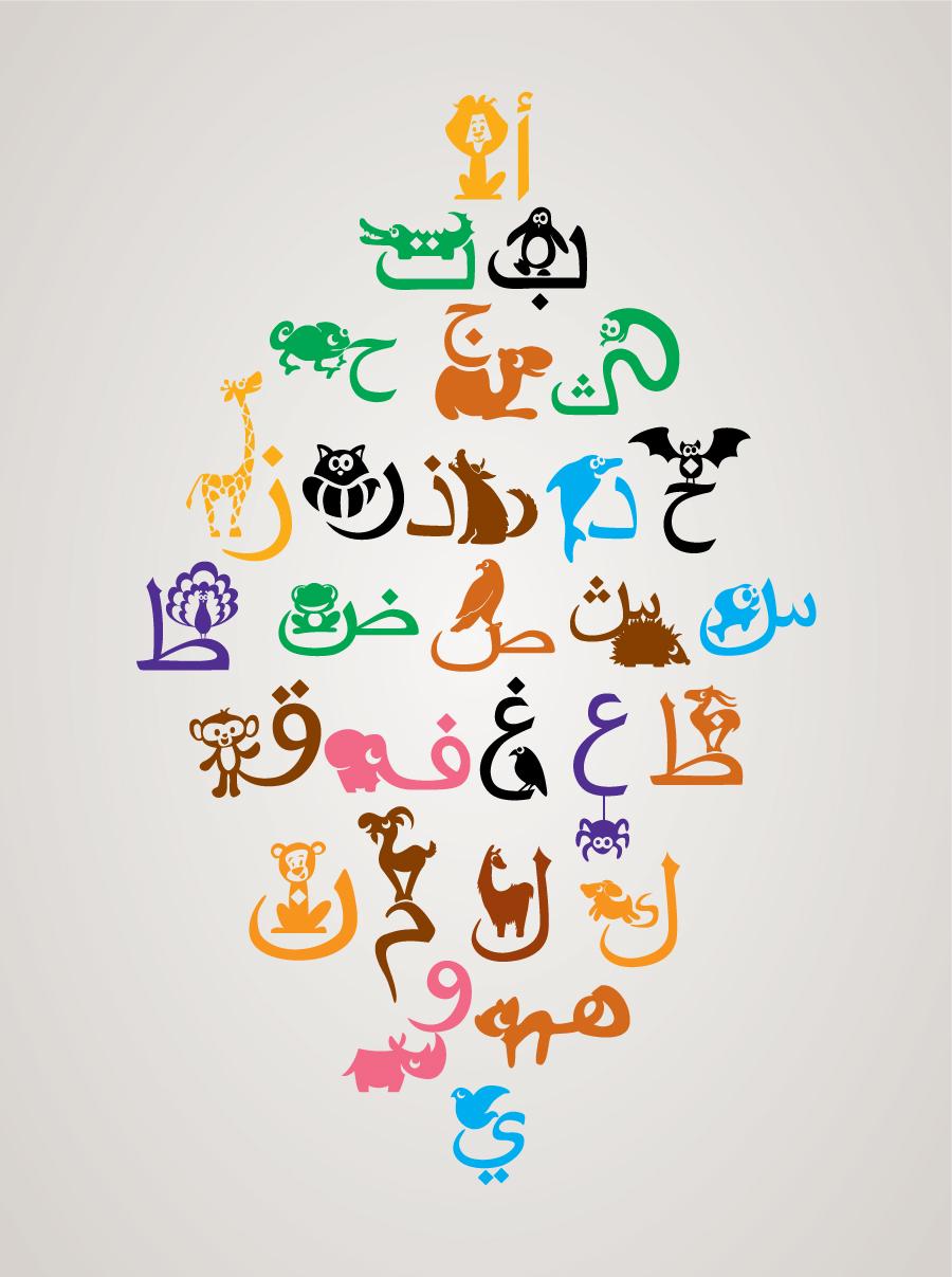 Arabic letters design pixshark images